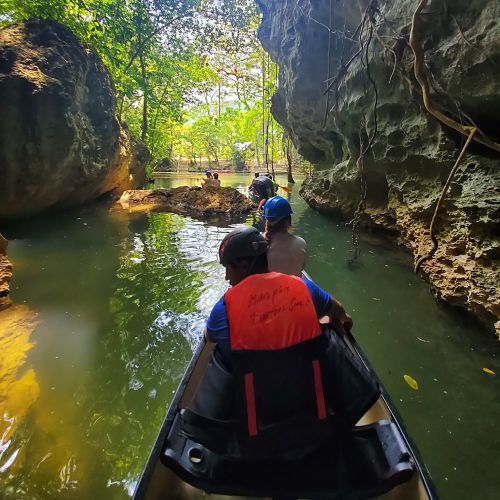 Canoeing at Barton Creek image
